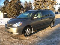 2005 Toyota Sienna, LE-Pkg, 7 Pass, Auto, Loaded, $6,500