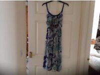 New/Unworn Monsoon Summer Dress Size 8
