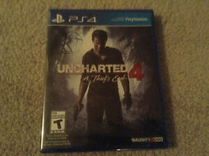 Brand new sealed Uncharted 4 for only $60 Kitchener / Waterloo Kitchener Area image 1