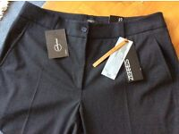 "Brand New ""Zerres Carbonium"" Womens Smart Trousers, Size 16"