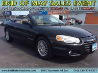 2004 CHRYSLER SEBRING CONVERTIBLE LXI ~ SUMMER IS HERE !