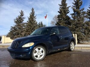 2002 Chrysler PT Cruiser, 5/SPD, LOADED, $2,000
