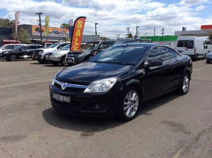 2007 Holden Astra AH Twin Top Convertible 2dr Auto 4sp 2.2i [MY07.5] Black Automatic Convertible