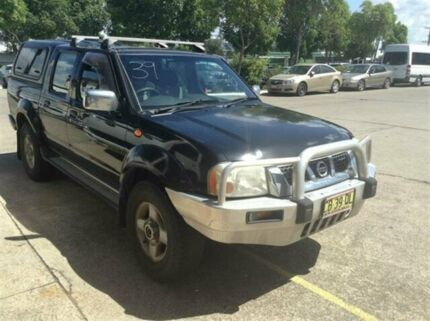 2006 Nissan Navara D22 ST-R (4x4) Black 5 Speed Manual Dual Cab Pick-up Cardiff Lake Macquarie Area Preview