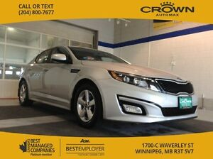 2015 Kia Optima LX *Heated Seats and Fog lights*