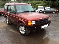 2001 LAND ROVER DISCOVERY TD5 S 2495cc BARGAIN £1450 NO SWAP OR SILLY OFFERS