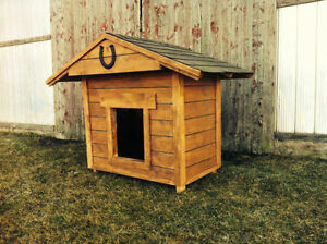 New large insulated dog house