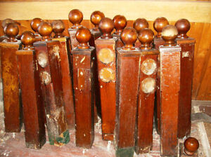 Wooden Posts From Around York Tavern Lighted Dance Floor$25each Kawartha Lakes Peterborough Area image 7