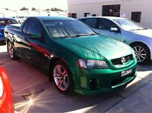 2010 Holden Ute VE MY10 SV6 Poison Ivy 6 Speed Manual Utility Maryville Newcastle Area Preview