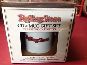 ROLLING STONE CD and MUG SET