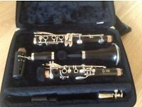 Yamaha B flat Clarinet 450YCL. Excellent condition.