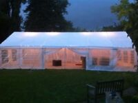 Sunshine Marquee Hire - Party tent - Gazebo - Tables & Chairs