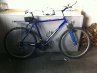 Man's second hand bicycle Townsend Grand Canyon with helmet