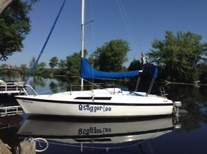 Macgregor 26S sailboat with trailer
