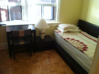 Private and spacious bedroom for rent in a quite home