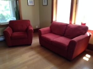 Matching Love Seat and Chair – MOVING SALE