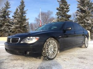 2008 BMW 750i, AUTO, LEATHER, ROOF, NAVI, X-CLEAN, $12,500
