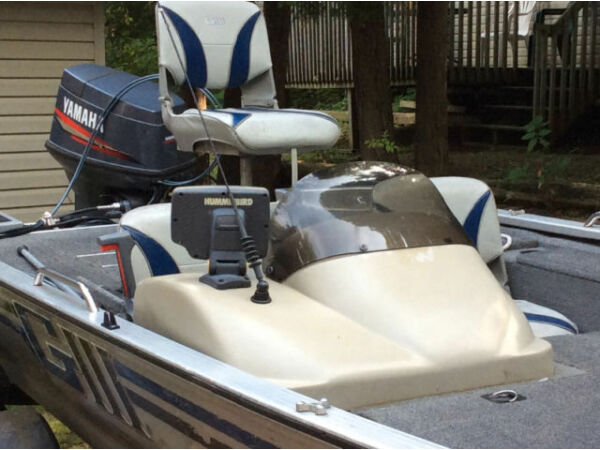 Used 1999 G3 Boats Fisher G3 175 Pro Bass Boat 40 HP Yamaha and trail