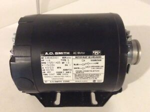 1/4 HP Carbonator Pump Motor ( NEVER USED, STILL IN BOX )