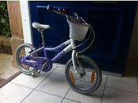 Kid's 18 inch Bike for girls