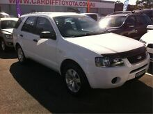 2008 Ford Territory SY TX White 4 Speed Sports Automatic Wagon Cardiff Lake Macquarie Area Preview
