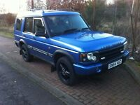 Land rover discovery swap