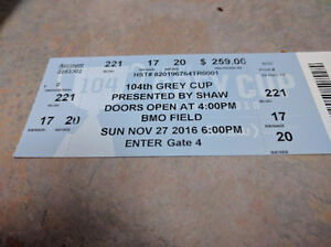Two Pairs of Grey Cup Tickets Oakville / Halton Region Toronto (GTA) image 2