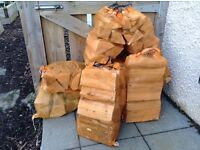 Kiln-Dried Hardwood Ash Logs/Firewood (net bags) from £5.50 per net. Delivered Aberdeen and Shire