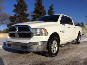 2015 Dodge Ram 1500, SLT-PKG, AUTO, 4X4, LOADED, CLEAN CARFAX!