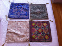 NEW PRICE - Pair of Two Cushion Covers