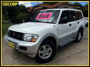 2002 Mitsubishi Pajero NP GLS LWB (4x4) 5 Speed Auto Sports Mode Wagon Homebush Strathfield Area Preview