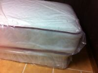 BRAND NEW TWIN SIZED TWO-SIDED MATTRESS - 5* HOTEL QUALITY