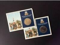 Falkland island crown coin sets