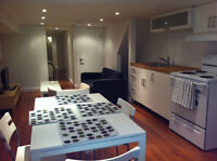 Basement Apartment Furnished St Clair Ave W and Dufferin