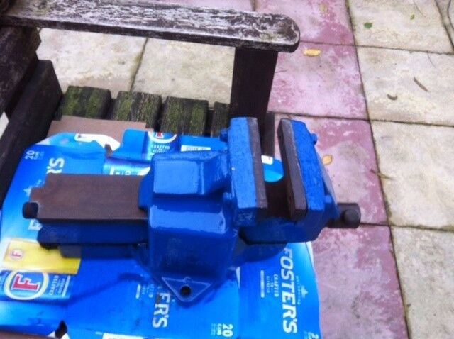 Record heavy duty vice 112p