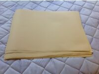 60 Sheets of A3 very pale yellow paper - Good condition
