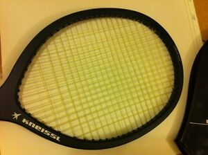 Kneissl Blue Star Big tennis racquet, 1980s, vintage, rare,cover