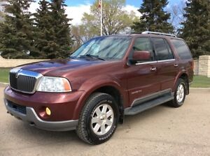 2003 Lincoln Navigator, AUTO, 4X4, LEATHER, $6,500