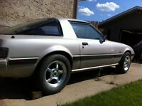 1985 Mazda RX-7 with chev 350 engine