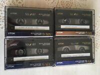 2 TDK Metal cassette tapes + 4 more
