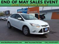 2012 FORD FOCUS SE ~ONLY 41000KM'S! APPLY ONLINE 4 FAST APPROVAL