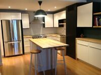 Spacious fully furnished room with en-suite bathroom, Sept 1