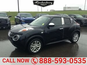 2013 Nissan Juke AWD SEDAN SL TURBO Leather,  Heated Seats,  Sun