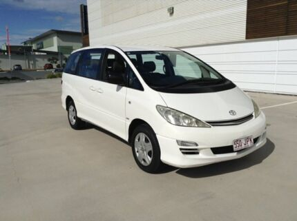 2004 Toyota Tarago ACR30R GLI White 4 Speed Automatic Van Morayfield Caboolture Area Preview