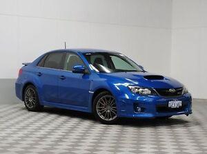 2013 Subaru WRX MY13 RS40 (AWD) WR Blue 5 Speed Manual Sedan Morley Bayswater Area Preview