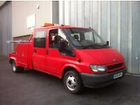 Ford Transit 2005 Crew Cab Spec Lift Recovery Truck 115BHP