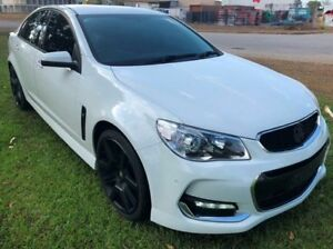 2016 Holden Commodore VF II MY16 SV6 White 6 Speed Automatic Sedan Berrimah Darwin City Preview