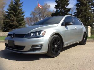 2015 Volkswagen Golf, DIESEL, HIGHLINE, AUTO, LEATHER/ROOF, NAVI
