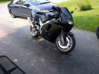 Zx9 Ninja for sale also Honda Sabre
