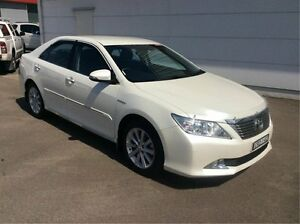 2014 Toyota Aurion GSV50R Prodigy Pearl White 6 Speed Sports Automatic Sedan Cardiff Lake Macquarie Area Preview